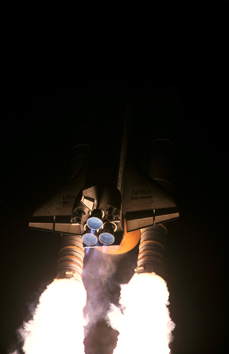 Launch of STS-63 Discovery