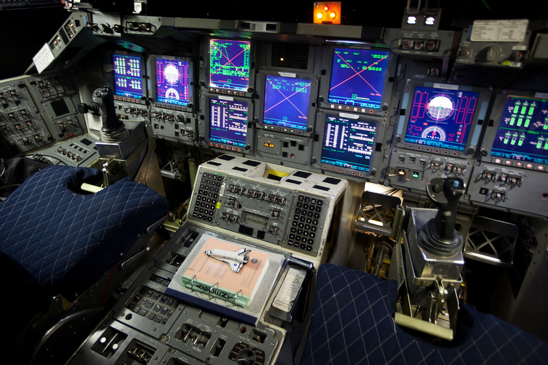 STS_135_SAIL (A close-up view of controls and displays on the forward flight deck
